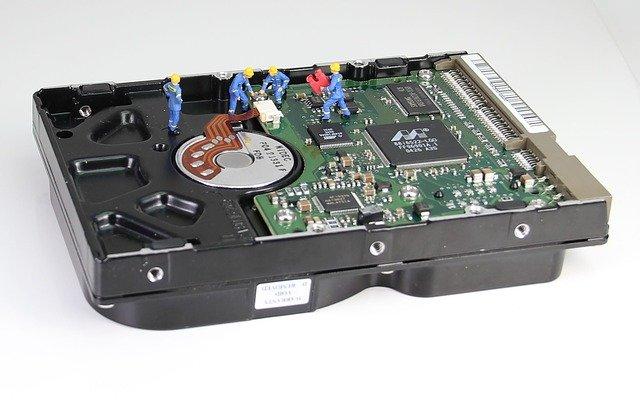 HDDデータの復旧時の注意