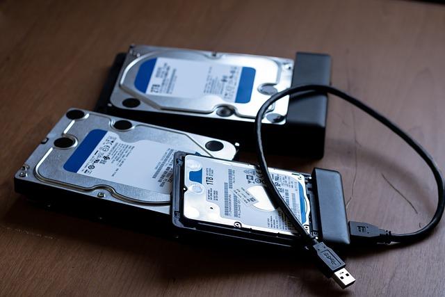 HDDデータの復旧の技術