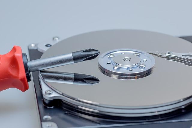 HDDデータの復旧と故障