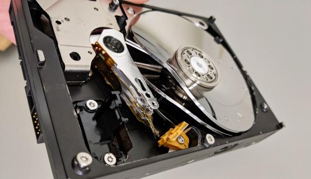 HDDデータの復旧の流れ